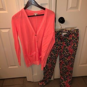 BRAND NEW Gap Women's Pink & Floral Outfit